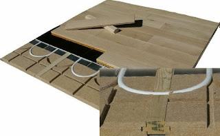 Plancher chauffant Caleosol Tradi ECO+ pour parquet massif