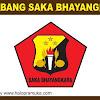 Lambang, Bendera, Tanda jabatan, Papan Nama dan Stempel Saka Bhayangkara
