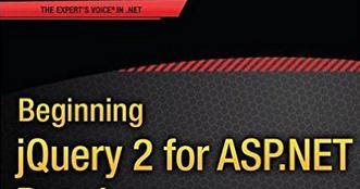 Jquery For Asp.net Developers Ebook