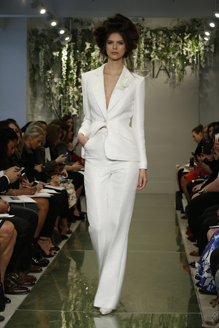 K'Mich Weddings - wedding dress - pantsuit - Vera Wang