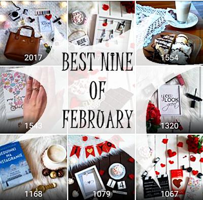 Best Nine of February - Moje najpopularniejsze zdjęcia na Instagramie