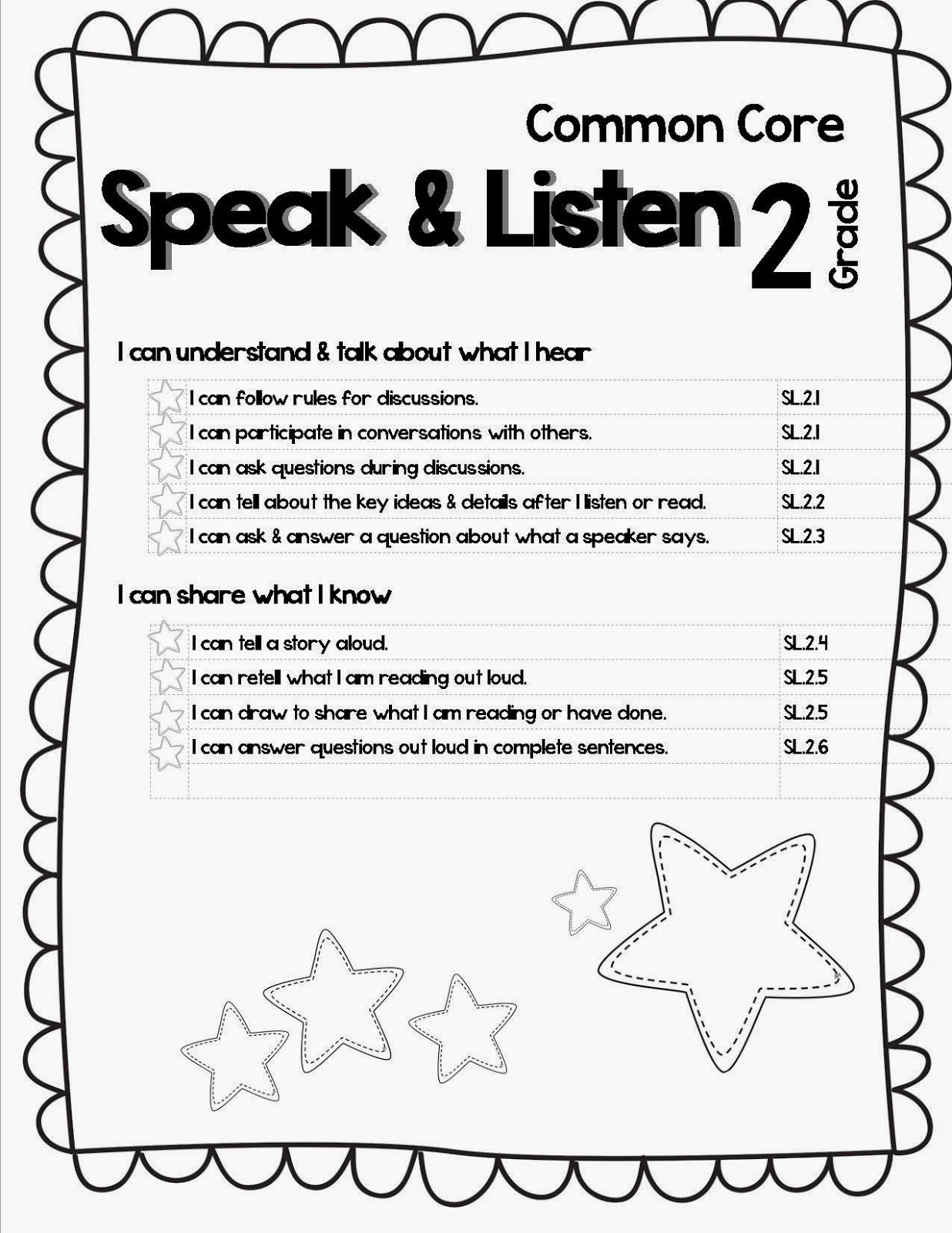 Lory S 2nd Grade Skills Student Data Portfolio Scrapbook