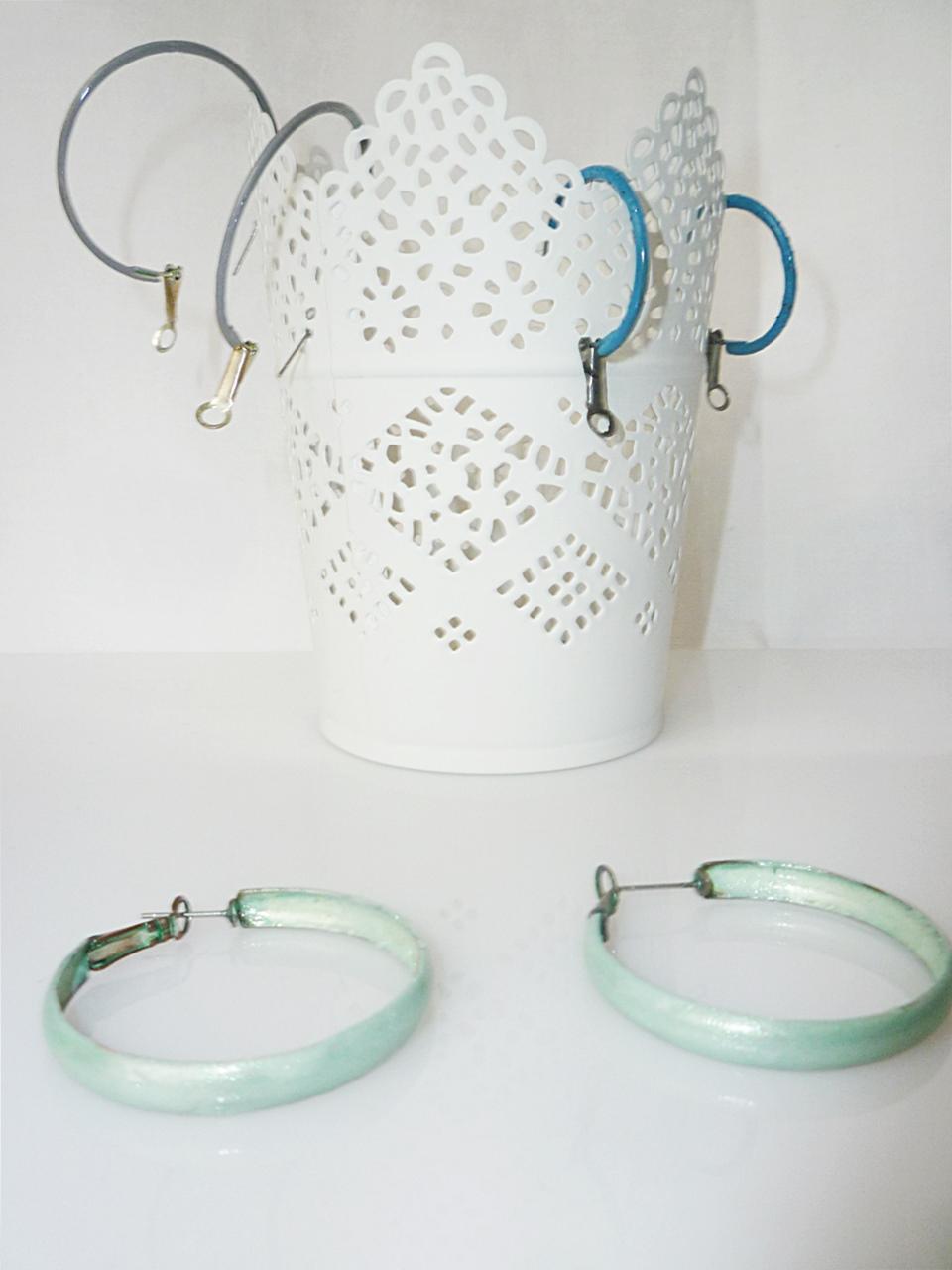 DIY ... alles vonKarin : Upcycling: Nagellack für die Ohren