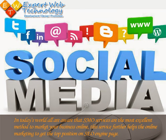 Social Media Optimization – A Way to Market Your Business | Expert Web Technology | SEO Company India | Software Development | Website Design India