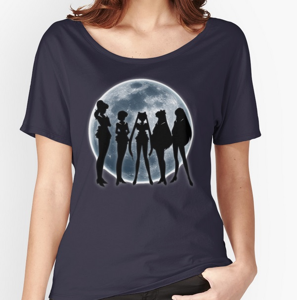 Sailor Moon Sailor Scout Silhouette shirt