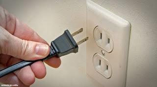 Mematikan semua kontak listrik yang tidak diperlukan