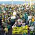 Ato em Fortaleza pede impeachment de Dilma e apoia a Lava Jato