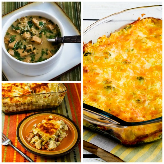 Twenty-Five+ Healthy Recipes Using Leftover Turkey (or chicken) found on KalynsKitchen.com