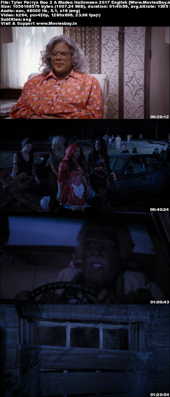 Perrys Boo 2 A Madea Halloween 2017 English 720p BRRip 1GB