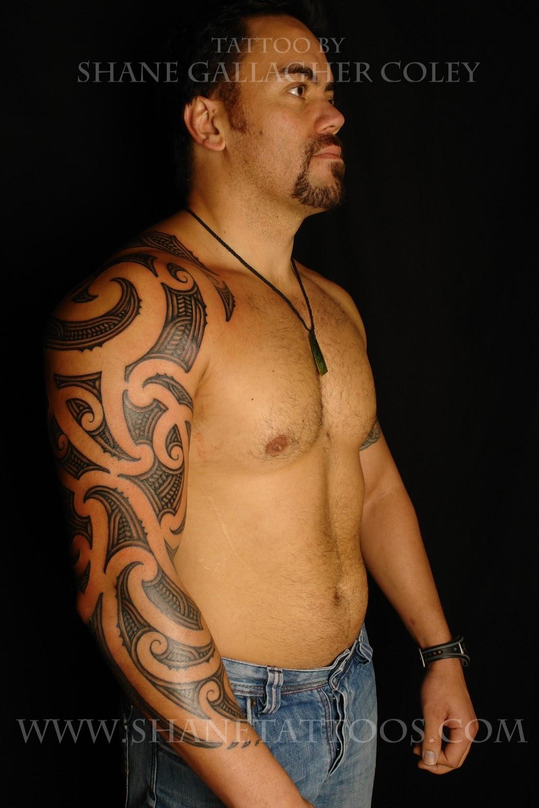 90be2e47d SHANE TATTOOS: Maori Sleeve Tattoo on Mana