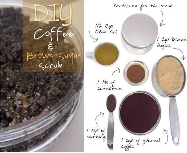 DIY} Coffee & Brown Sugar Body Scrub