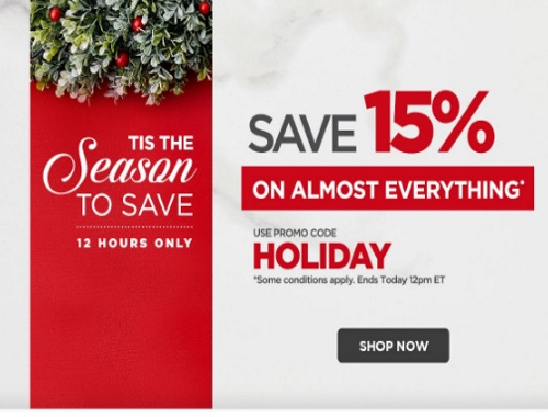 The Shopping Channel Flash Sale 15% Off Promo Code