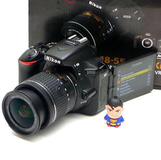 Kamera Nikon D5500 Fullset Di Malang