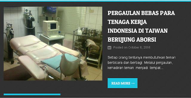 Klinik Wini: Setiap Hari Ada 3 Orang Luar Taiwan yang Melakukan Ab0rsi Seperti Dari Indonesia dan Vietnam