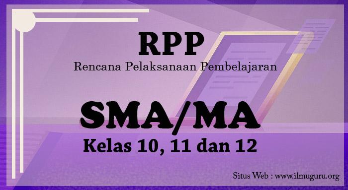 RPP Bahasa Inggris (Peminatan) Kelas 10 Semester 1
