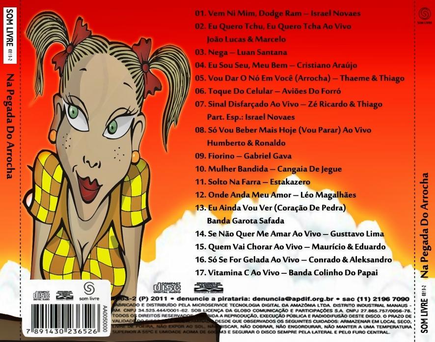 musicas na pegada do arrocha 2012
