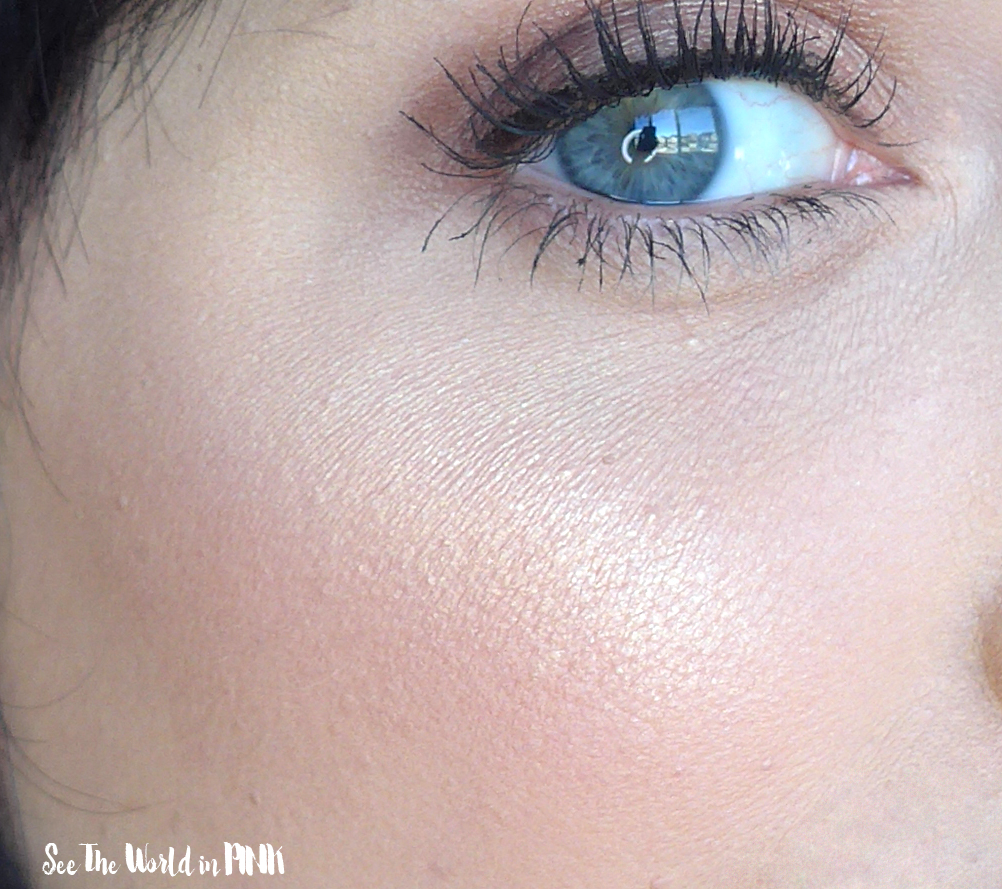 "Illamasqua Beyond Powder Highlighter in ""Deity"" - Try-on and Review"