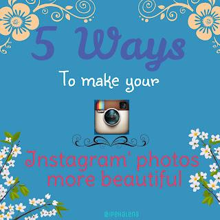 Cara mempercantik foto Instagram