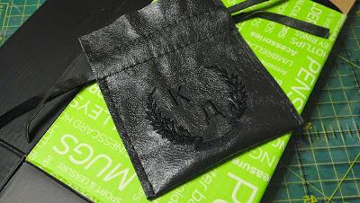 Маленький мешочек 5х7 см, мешочек из натуральнйо кожи - упаковка для флешки