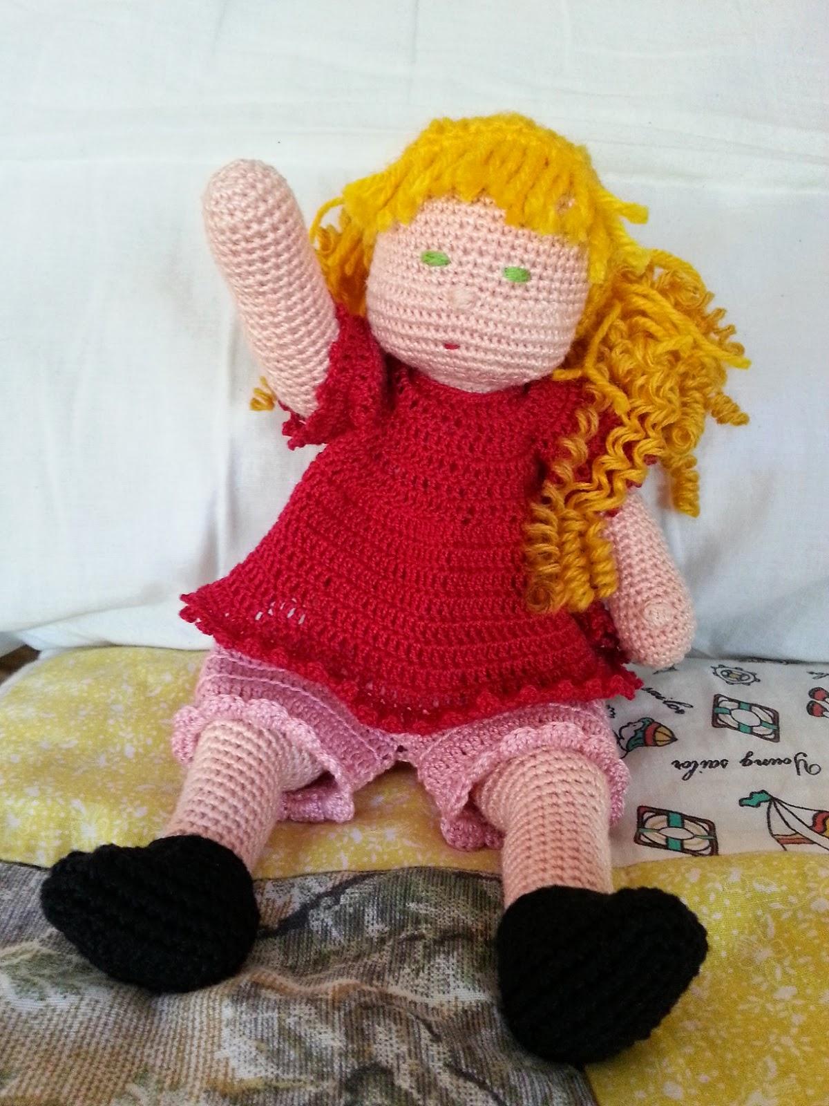 Muñeca Amigurumi Articulada | Bonecas, Bonecas de crochê, Boneca ... | 1600x1200