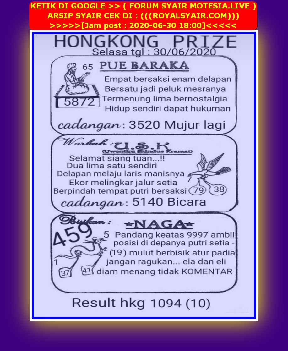 Kode syair Hongkong Selasa 30 Juni 2020 47