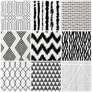 black and white, fabric, black and white upholstery choices, black and white fabric, fabric from minted, black and white patterns