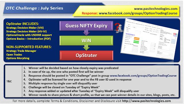 OTC Challenge: July Series, 2017