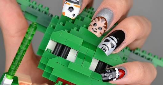 NAILS | Star Wars: The Last Jedi (Christmas Style)