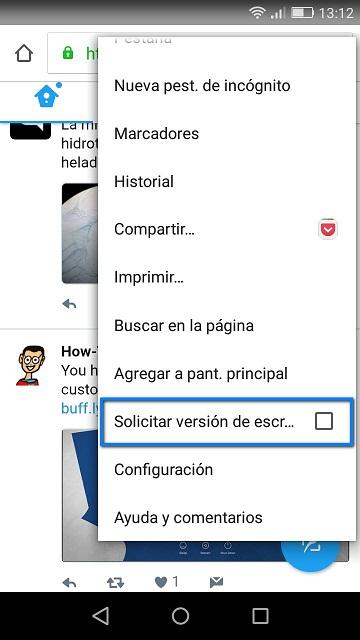 Cómo dejar Twitter Lite como cliente de escritorio en Android - El Blog de HiiARA
