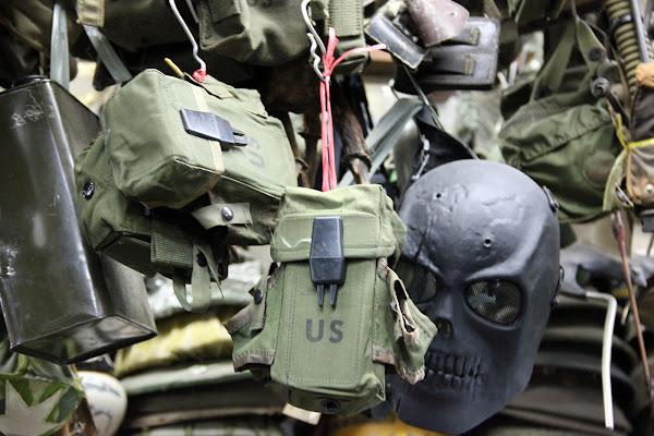 Trajes, vestimenta y ropa de la guerra de Vietnam