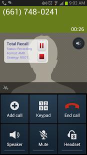 Total Recall Call Recorder Android APK