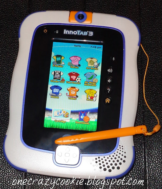 Crazy Cookie Learning With Vtech Innotab 3 Tablet And Giveaway