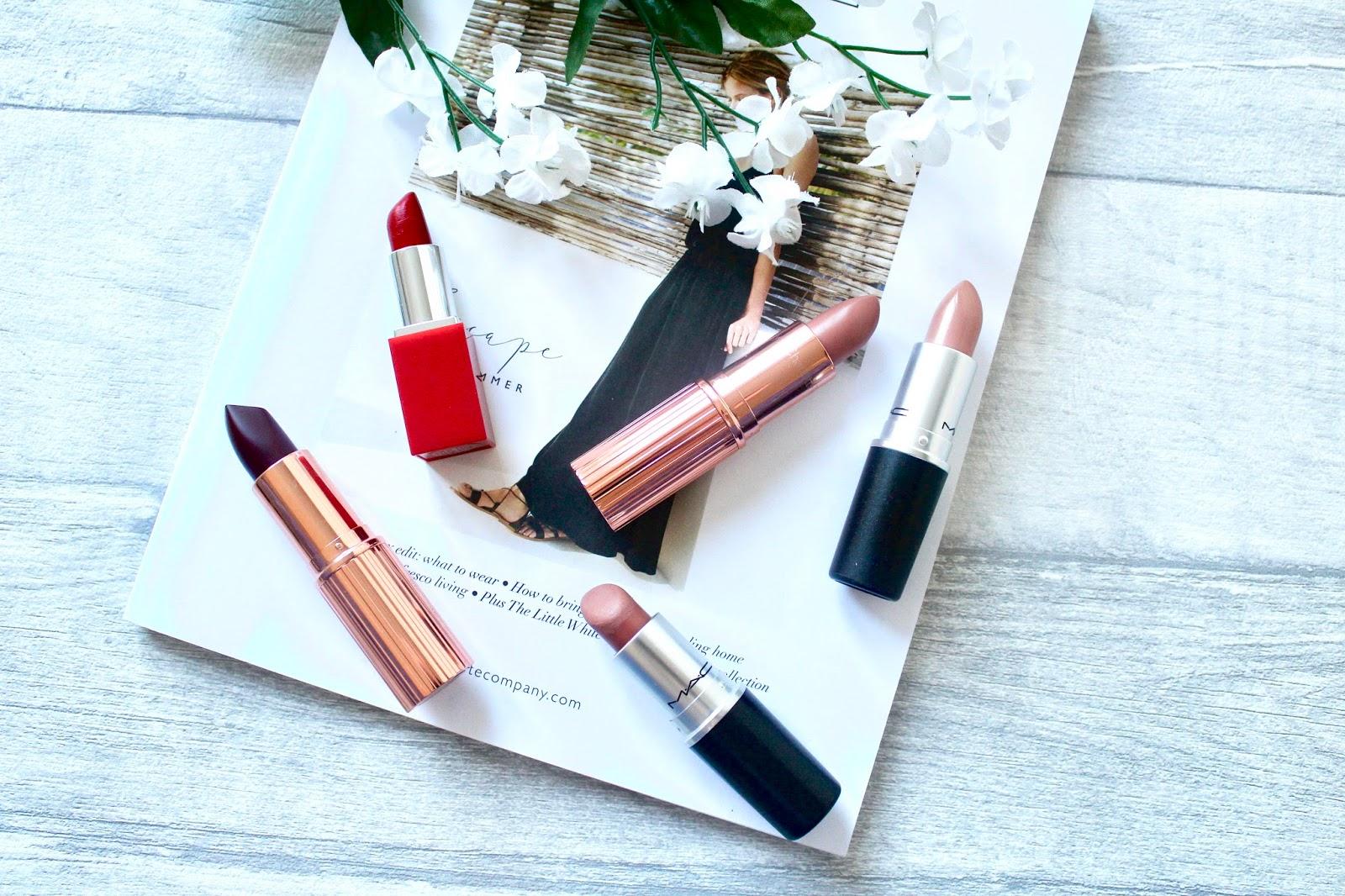 Top Five: High End Lipsticks