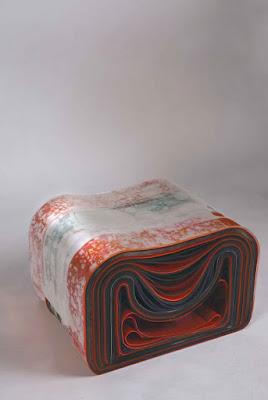 Green pear Diaries, diseño, muebles, Lee Eun Kyoung, P.V.C. Chair