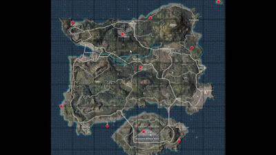 Lokasi Mendapatkan Flare Gun di PUBG Mobile