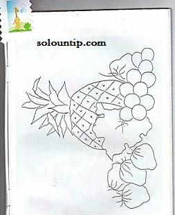 Moldes De Frutas Para Pintar En Tela Solountipcom