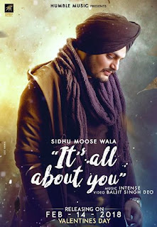 It's All About You Lyrics - Sidhu Moose Wala Song