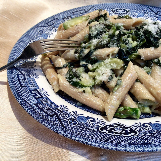 healthy vegetarian pasta recipe