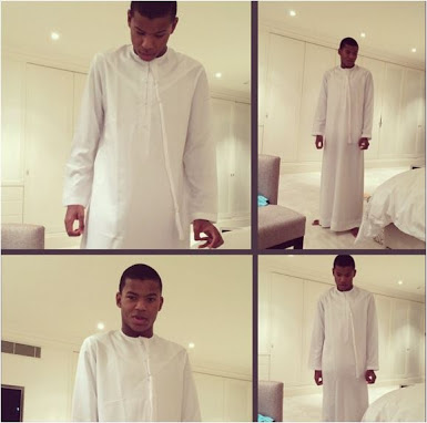 Billionaire Femi Otedola's Only Son & Heir (Photos)