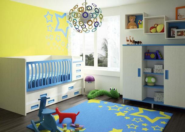 Dormitorio para bebe - Dormitorio de ninos ...