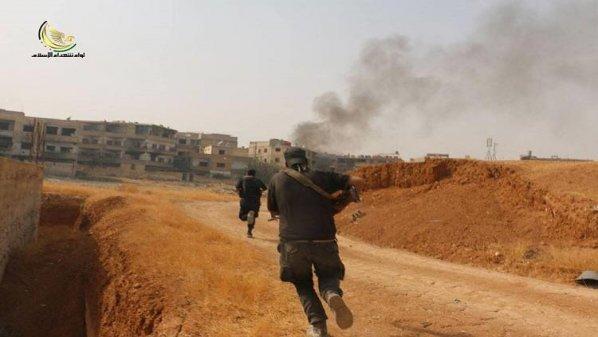 Pejuang Suriah Bunuh Pasukan Assad dan Milisi Syiah Irak
