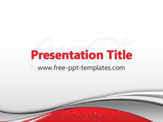 Free powerpoint templates coca cola ppt template toneelgroepblik Choice Image