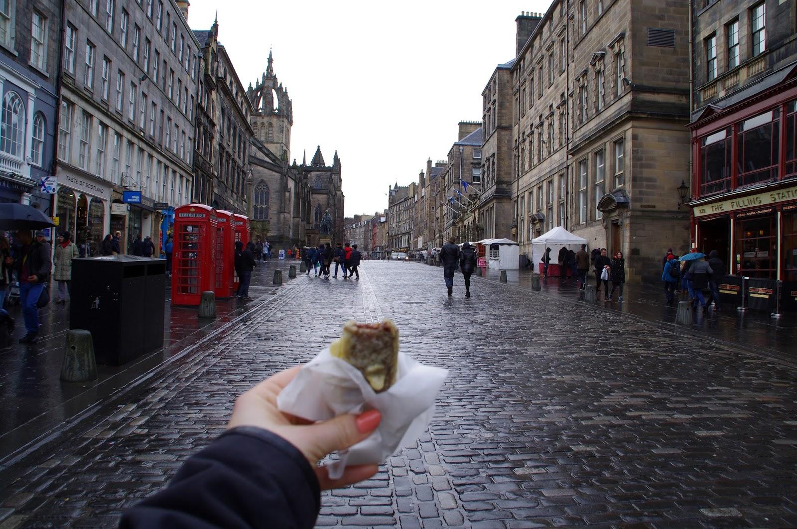 Deep Fried Mars Bar Edinburgh
