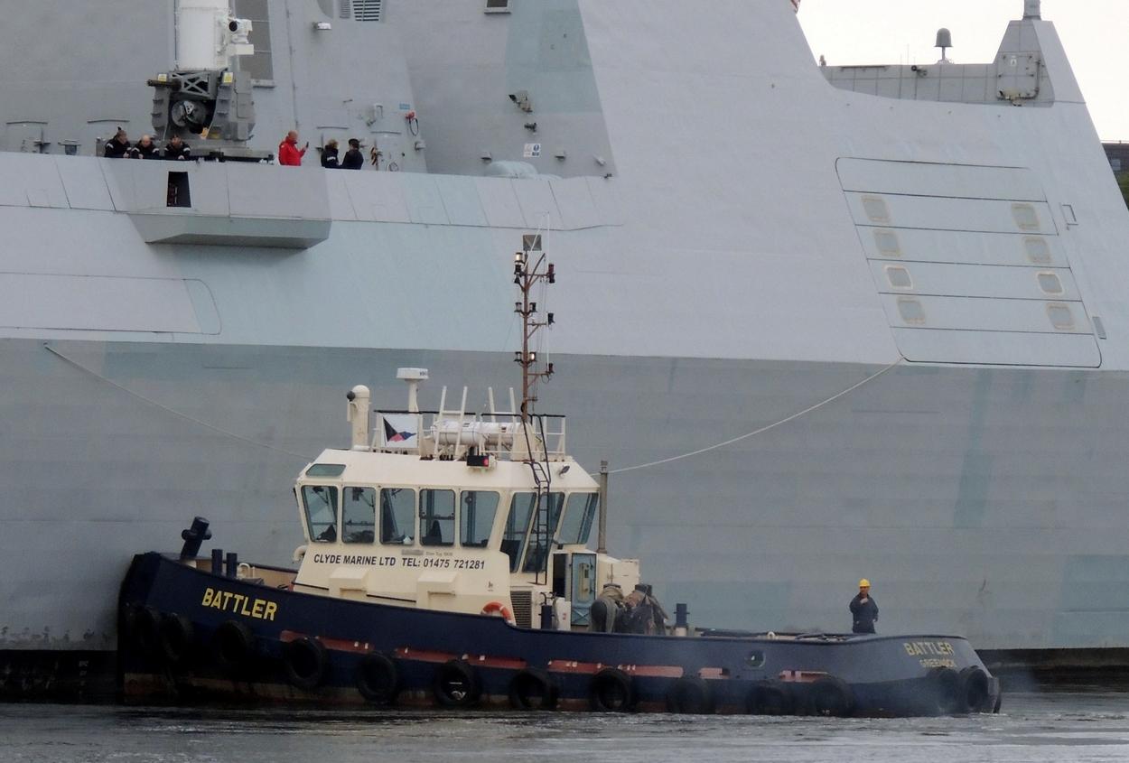 River Clyde Photography: HMS Duncan
