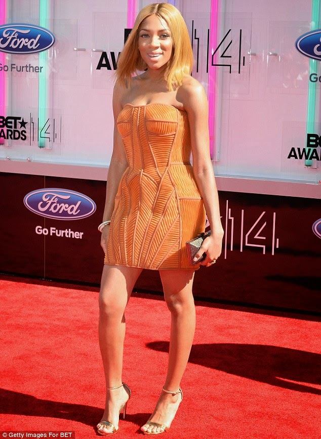 article 2674348 1F40EA5A00000578 545 634x866 Red Carpet photos from 2014 BET Awards + Full List of Winners