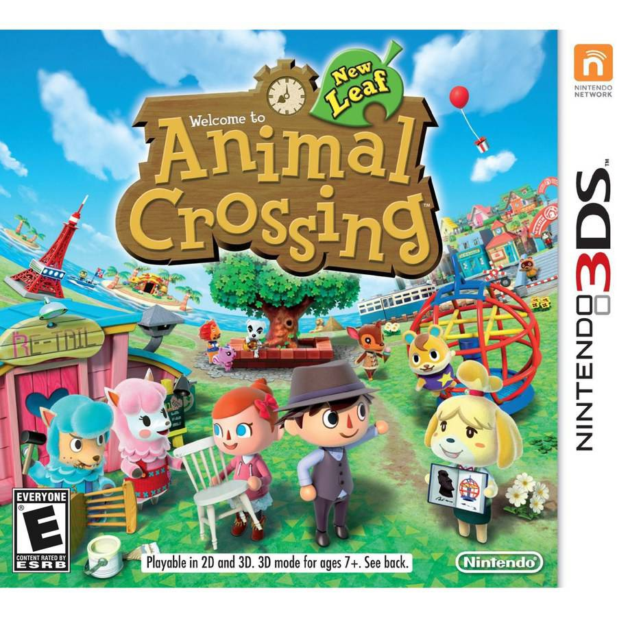 Update 1 5 Animal Crossing new leaf | Cias para 3DS