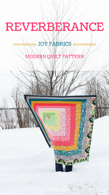 Q2 2018 Finish-A-Long | Shannon Fraser Designs | Reverberance Quilt Pattern