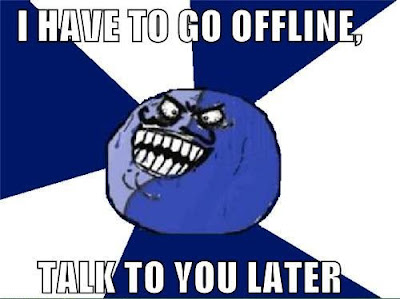 Go offline on Facebook