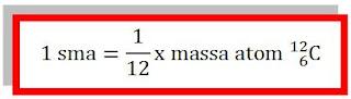 definisi 1 sma (satuan massa atom)