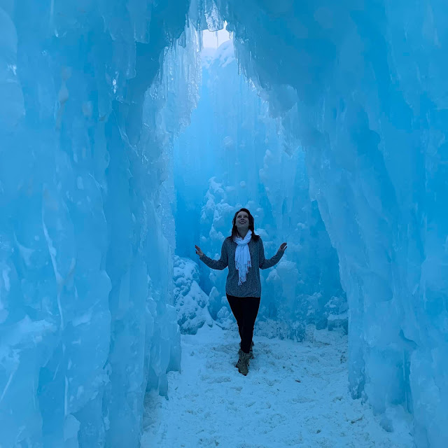 winter travel spots, winter destinations, real life winter wonderland, ice castles, ice sculptures, winter activities,